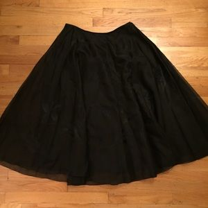 Ellen Tracy silk skirt